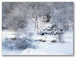 Šūpoles sniegā